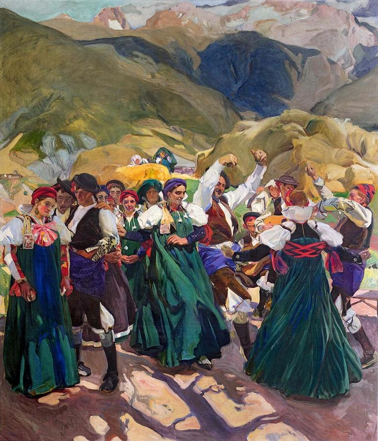 Pirineo literario y pictórico de la mano de Unamuno, Sorolla, Julio Llamazares y Luz Gabás