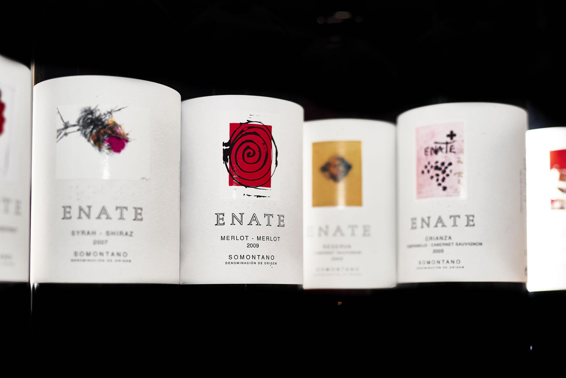 ENATE, arte del vino a la etiqueta
