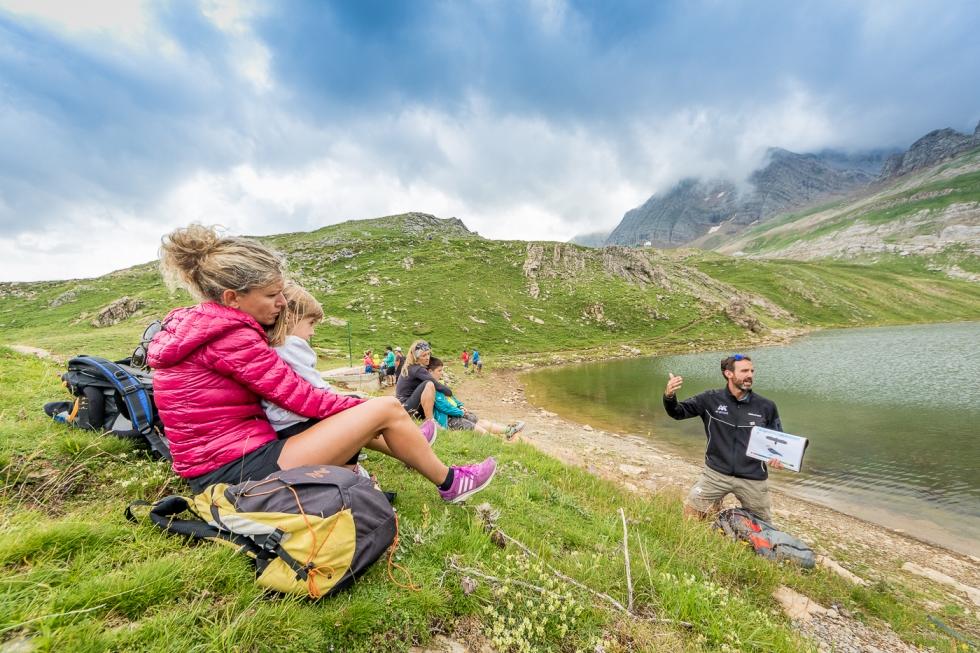 Conviértete en Montañero te lleva a conocer algunos ibones y cumbres del Pirineo