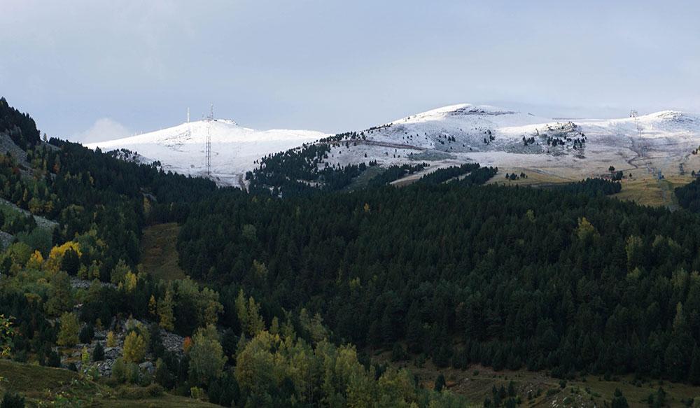 Primeras nieves en las estaciones