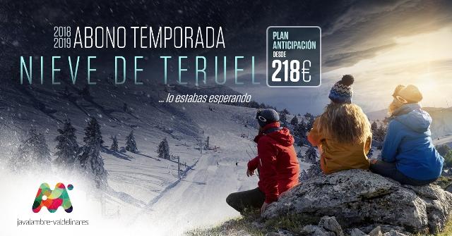 Esquía desde 34 euros al mes en Teruel