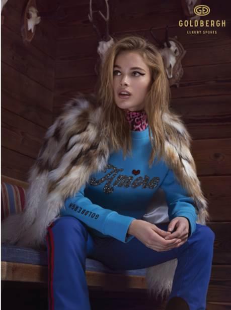 La moda más animal en la nieve.