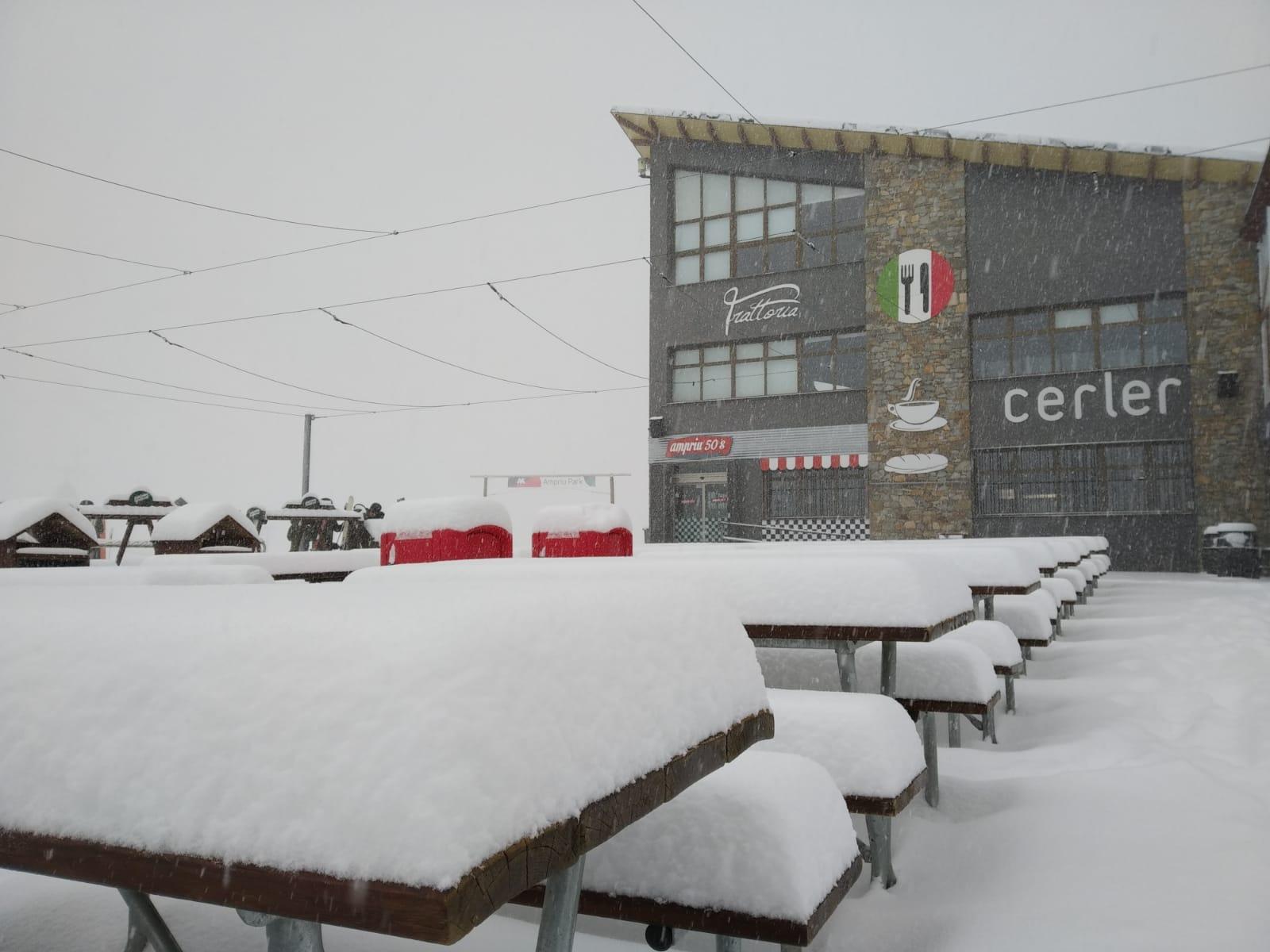 ¡Nieve fresca en Aramón! Vente a disfrutar este finde del nevadón
