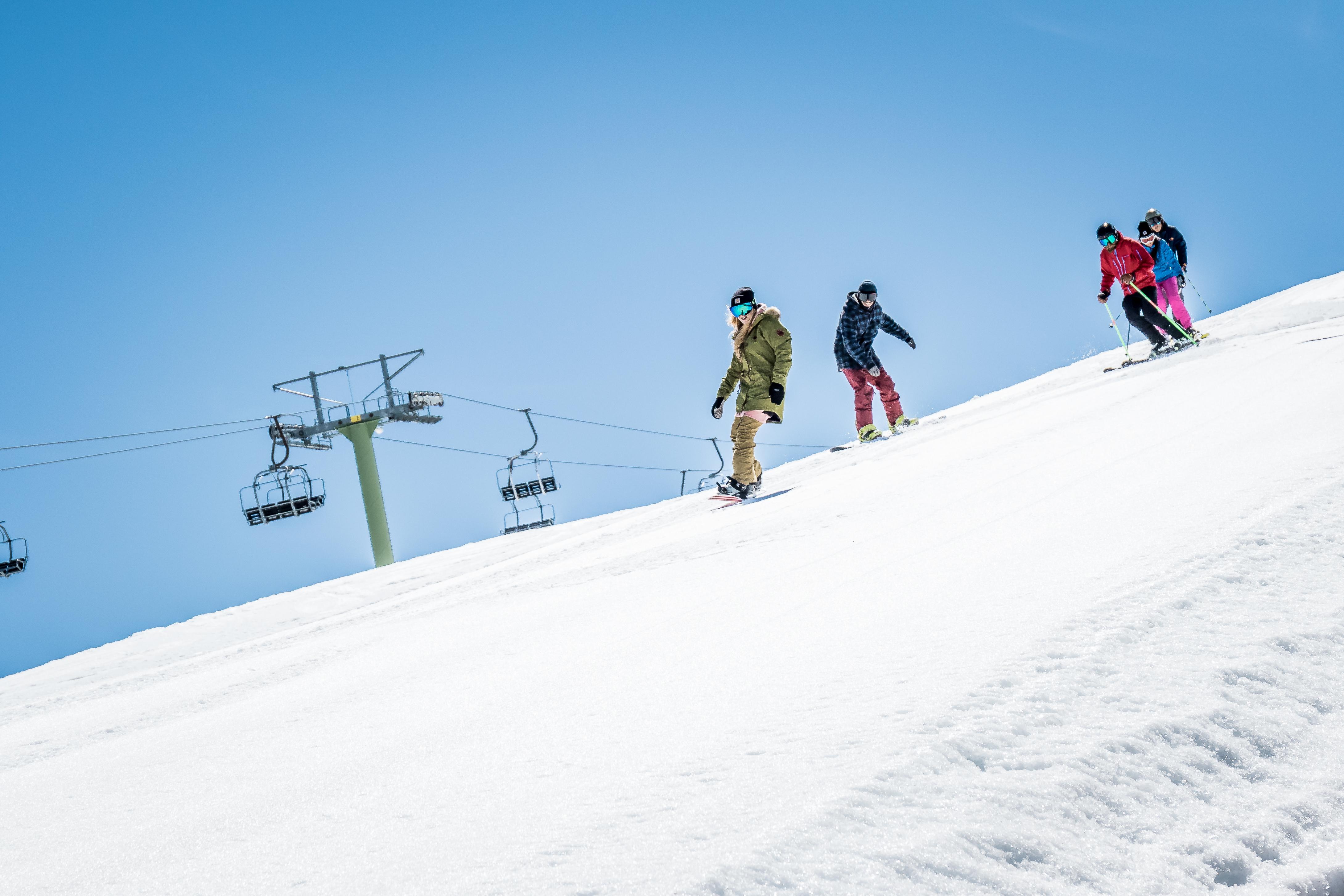 Las mejores pistas de Aramón para esquiadores expertos