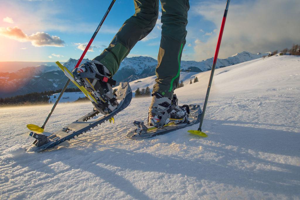 ¿Has probado a pasear sobre raquetas de nieve? ¡Te enganchará!