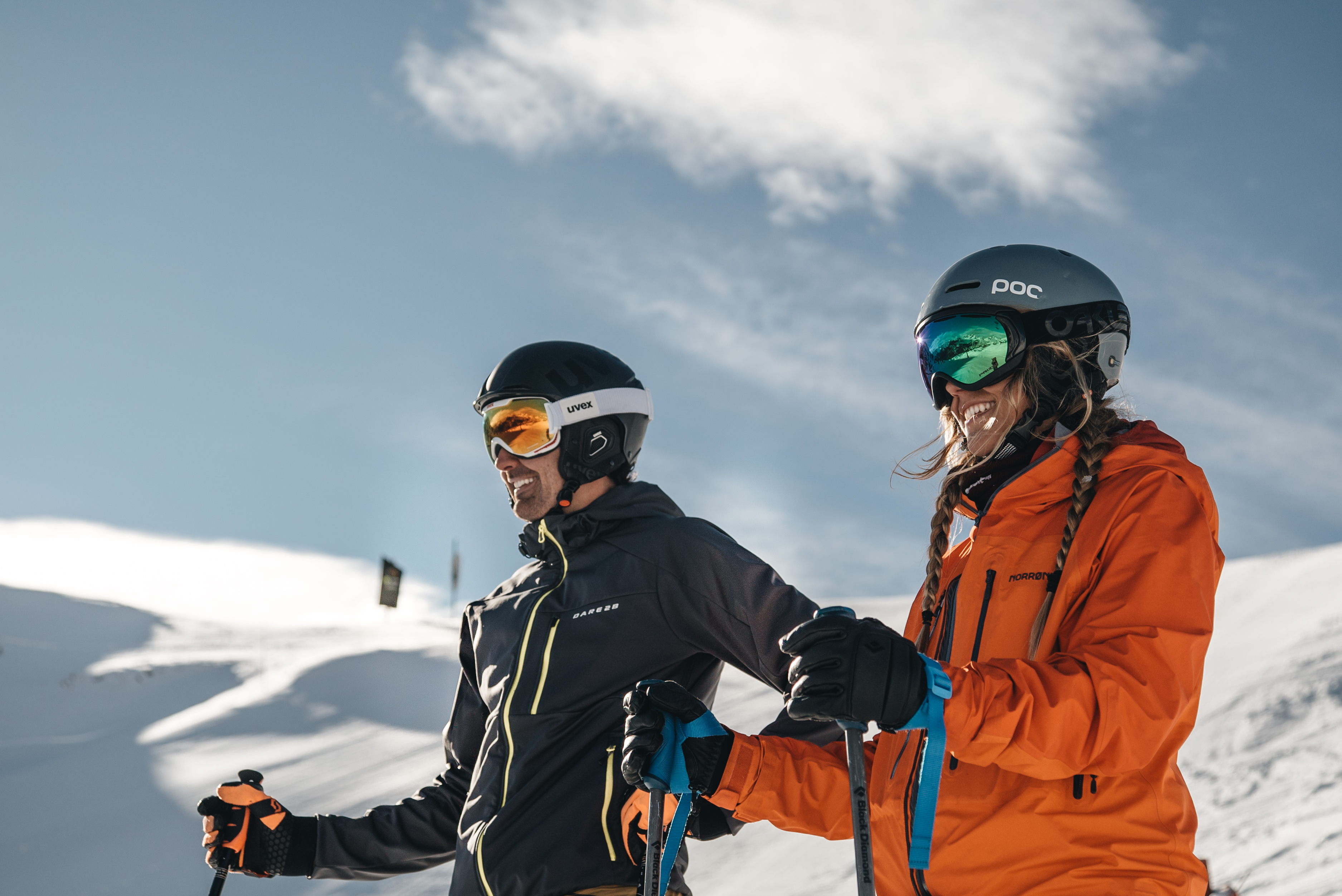 El casco es parte imprescindible de tu equipo de esquí