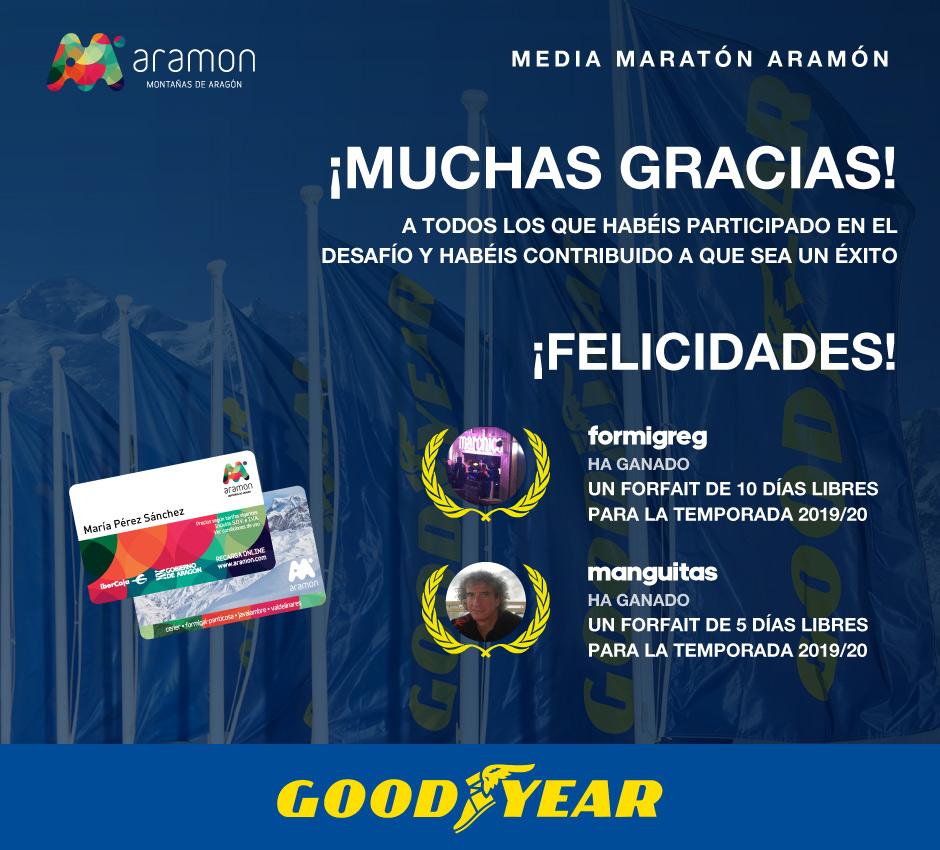 Ganadores challenge Goodyear Aramón