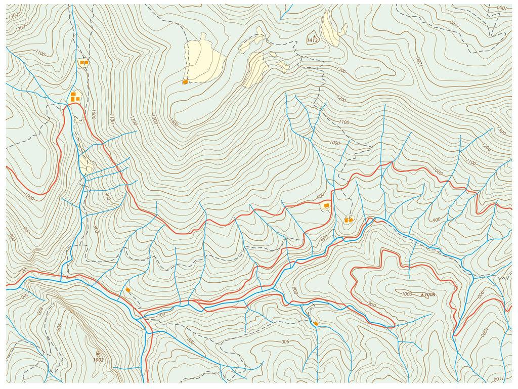 ¿Cómo leer un mapa de los Pirineos?