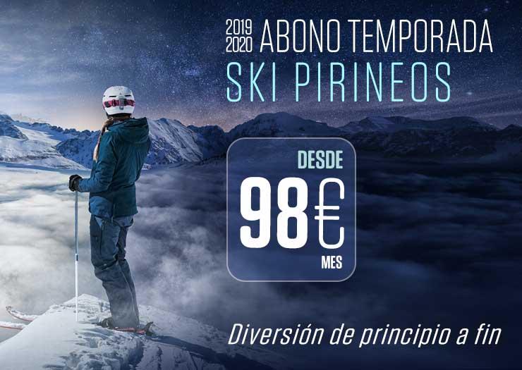 ¡Vuelve SKI PIRINEOS! ¡Un forfait para 390 kilómetros de pistas!