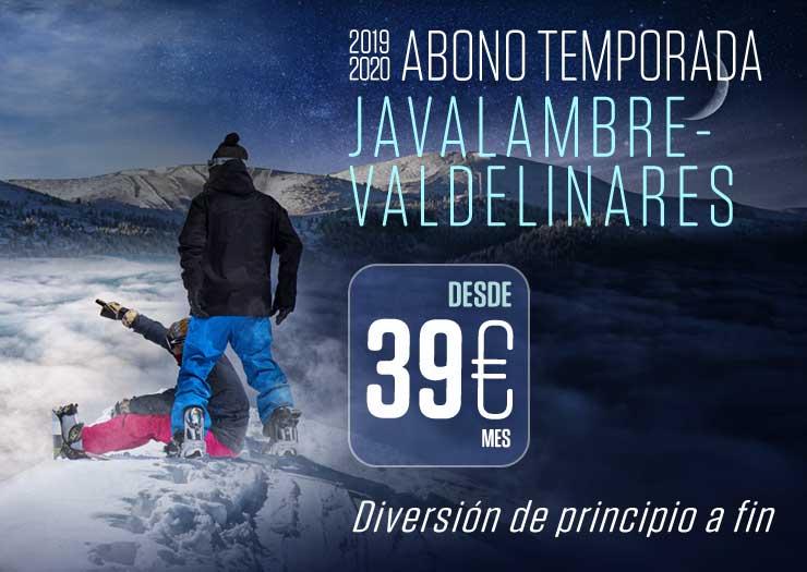 ¡Esquía desde 34 euros al mes en Teruel!