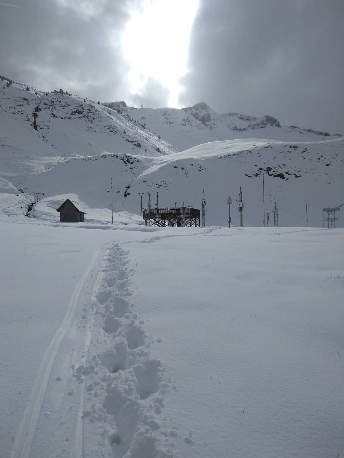 El nevadón del valle de Tena en imágenes
