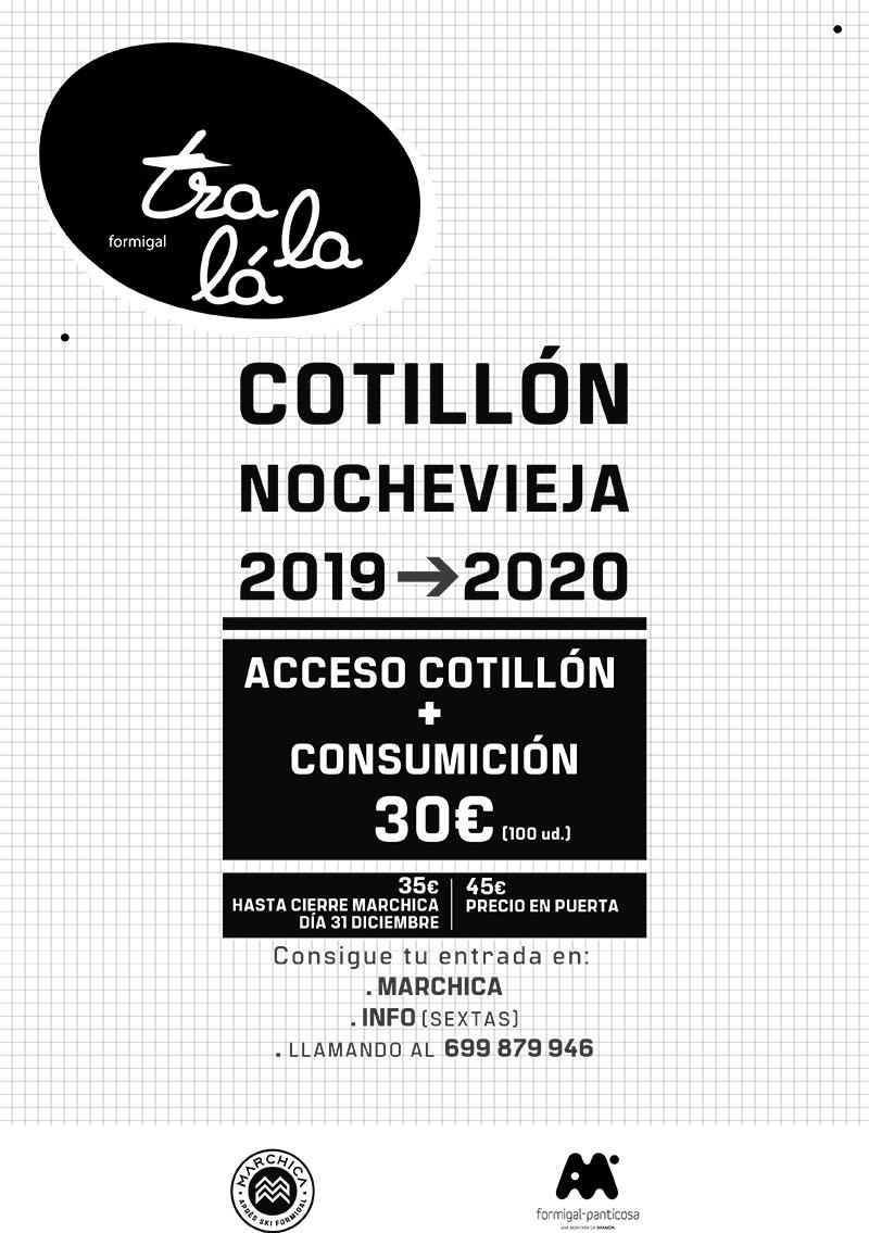 Cotillón de Nochevieja en Tralalá, en Formigal