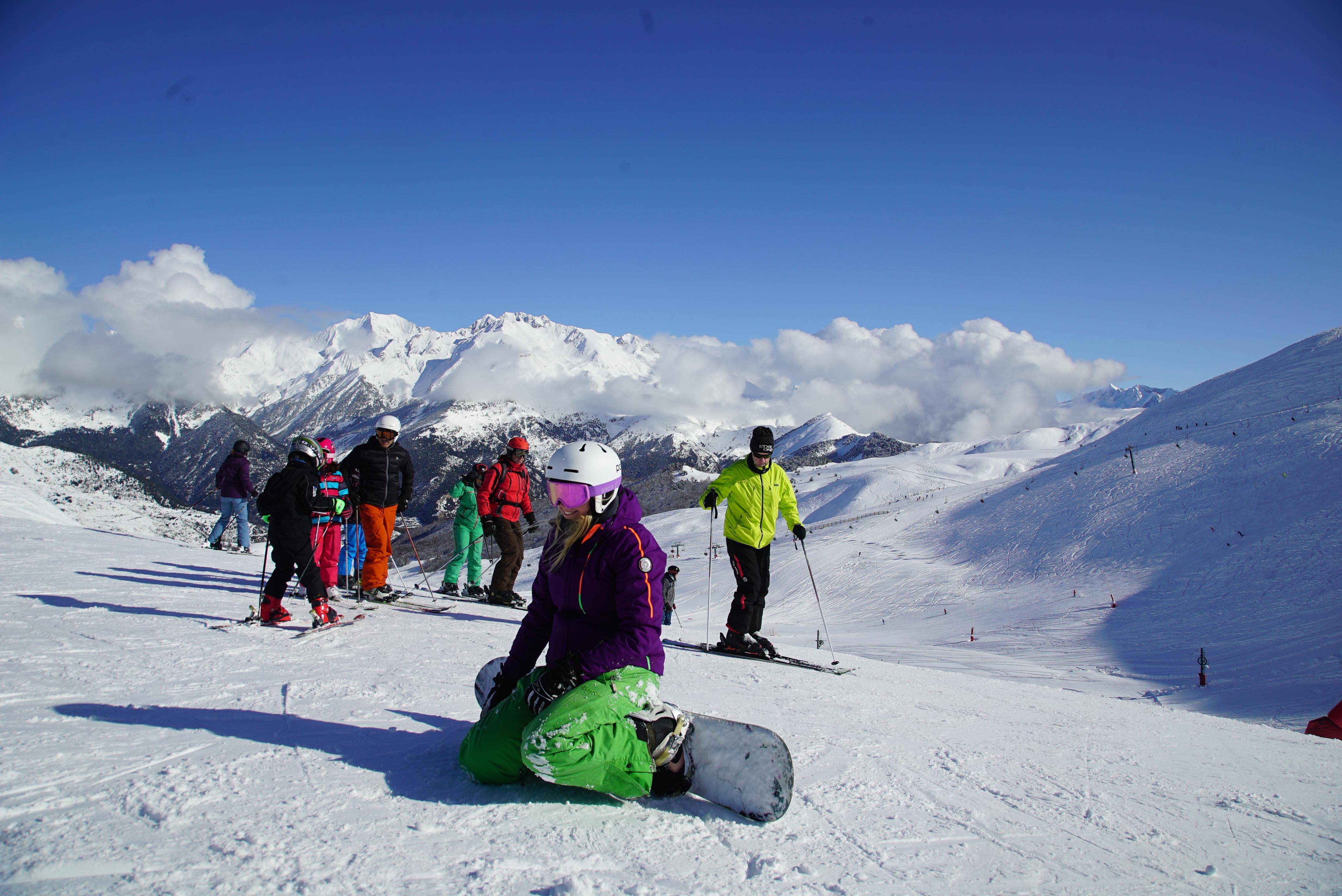 Las estaciones de Aramón rozan la apertura total con casi 250 km esquiables este fin de semana