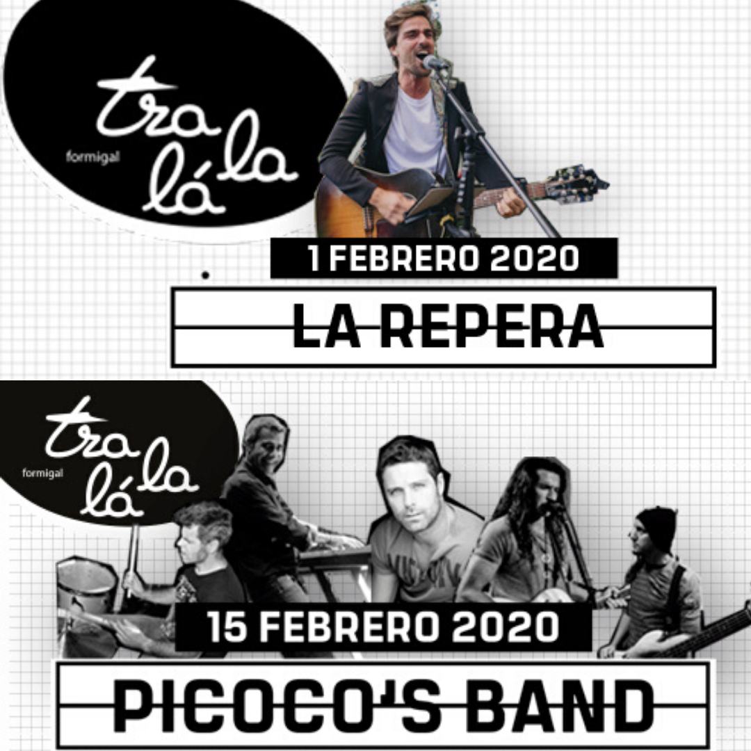 Música en directo en la Sala Tralalá: La Repera y Picoco's Band