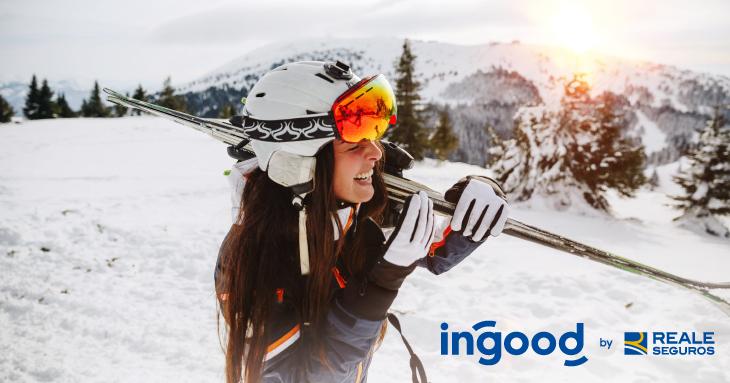 Protege tus esquís o tabla por 19 € con el seguro de nieve Ingood by Reale