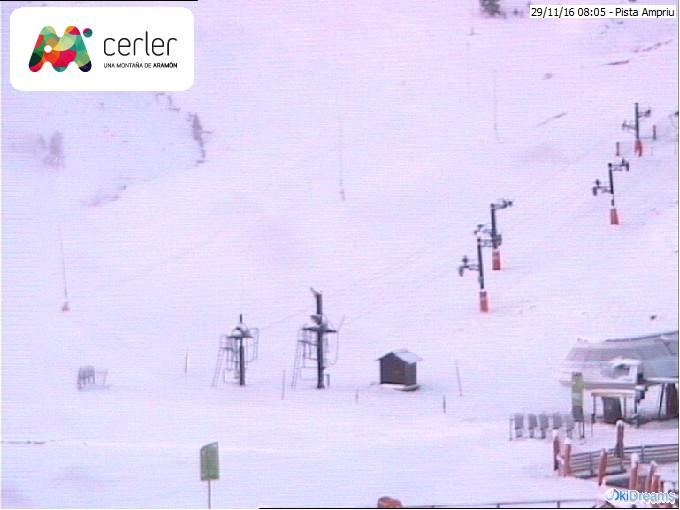 Webcam de la Estación de Esquí de Cerler