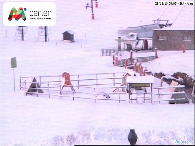 webcam estacion de esqui de baqueira: