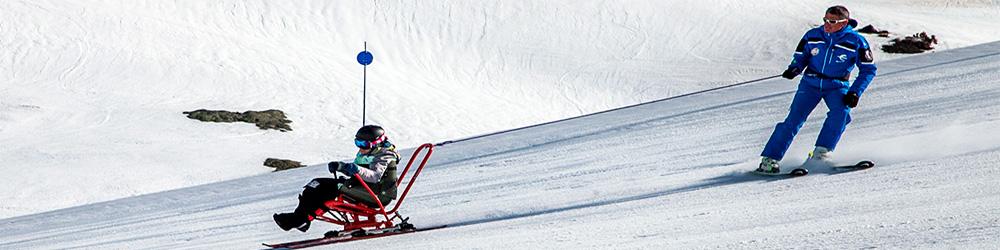 esqui discapacidad cerler