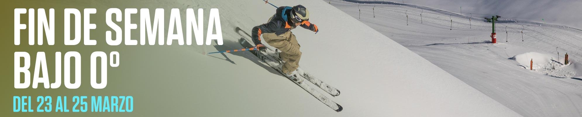 oferta esqui fin de semana bajo cero aramon formigal panticosa cerler
