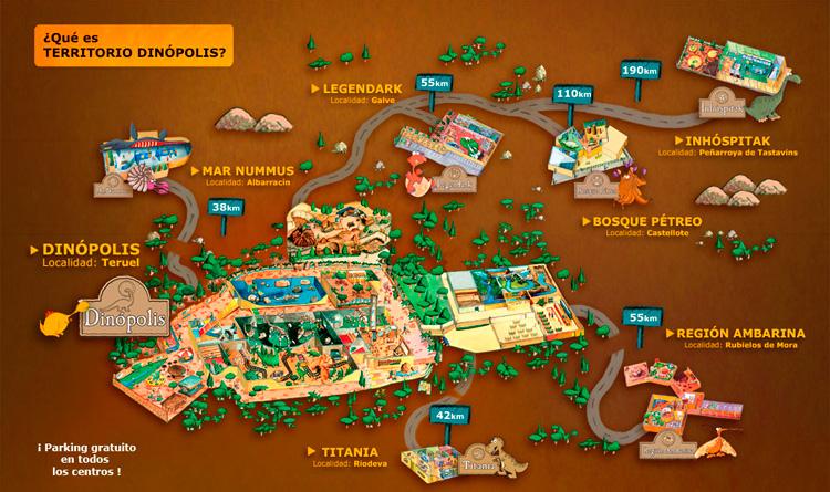 mapa-dinopolis-javalambre-valdelinares