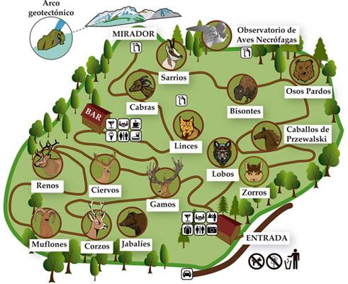mapa lacuniacha