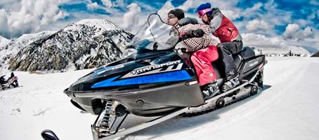motos de nieve Cerler
