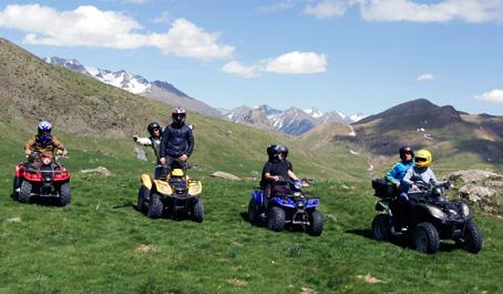 quads valle de tena