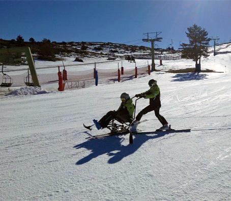 esqui discapacidad javalambre valdelinares